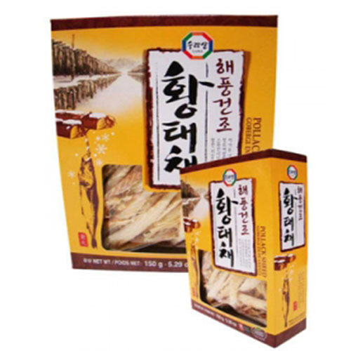 SURASANG DRIED POLLACK IN CASE, SLICED 황태채 1501g   18596