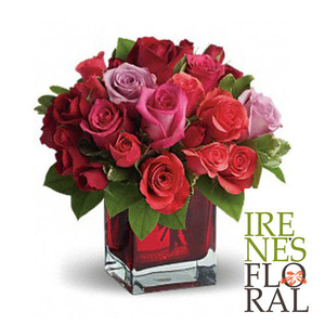Made in Love Bouquet with Red Roses   T9-3A