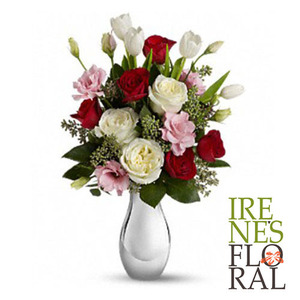 Teleflora's Love Forever Bouquet with Roses   T400-1A