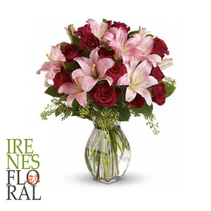 Lavish Love Bouquet with Long Red Rose  TS-1A