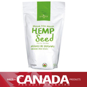 [건강식품] ORGANIC RAW SHELLED HEMP SEEDS 500g